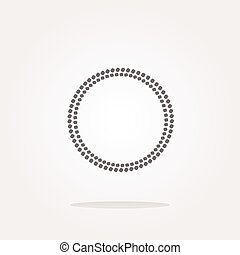 vector glossy web buttons with abstract circles. Web Icon Art. Graphic Icon Drawing