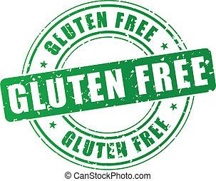 Vector gluten free stamp