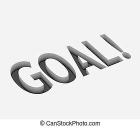 vector goal text