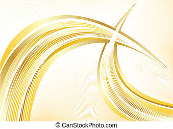 Vector gold abstract background