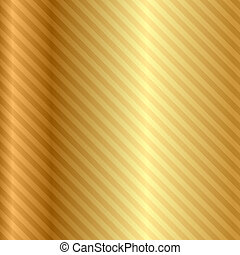 Vector gold background with stripes