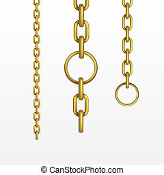 Vector Gold Chain