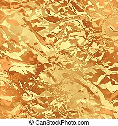 Vector gold foil background