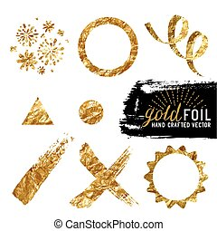 Vector Gold Foil Collection