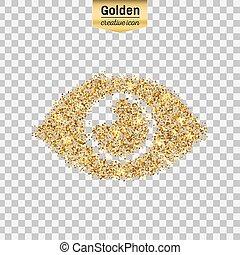 Vector gold icon