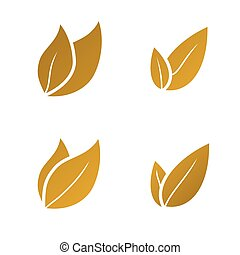 gold Leaf icon set