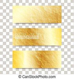 Vector Gold Texture.