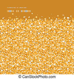 Vector golden shiny glitter texture horizontal frame...