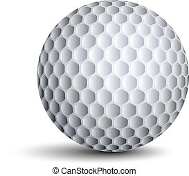 vector, golf bal