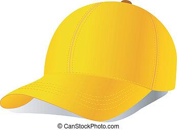 vector, gorra de béisbol