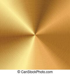 vector, goud, textuur
