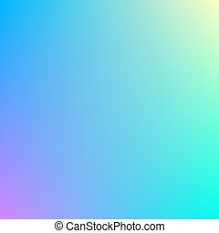 Vector gradient of blue and green colors