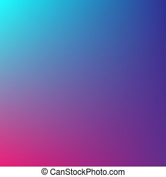 Vector gradient of blue and warm colors