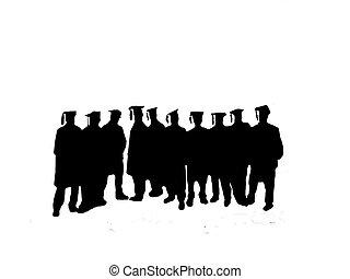 vector, -, graduación