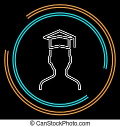 vector graduates student - education