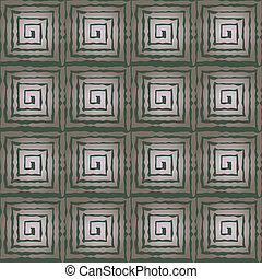 seamless pattern with the image of geometric shapes