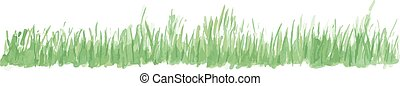 Vector grass illustration