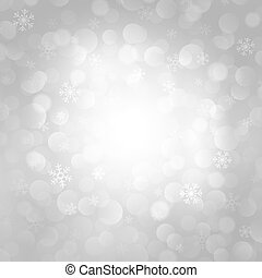 vector gray background with snowflakes