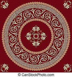vector Greek ornament (Meander)