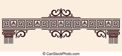 Vector Greek ornament.
