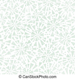 green abstract triangles textile texture seamless pattern background