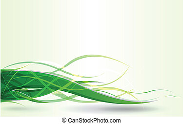 vector green background