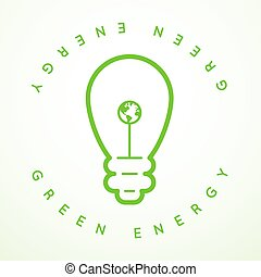 Vector Green Energy Icon