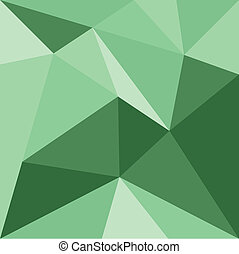 Vector green mosaic pattern