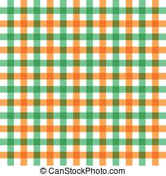 Vector green orange background
