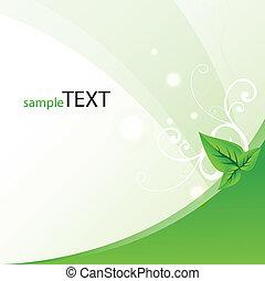 vector green template