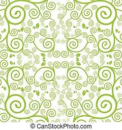 vector green vine