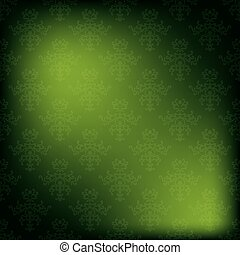 vector green vintage background - eps 10