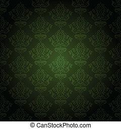 Vector green wallpaper