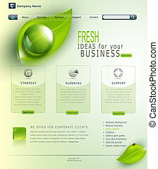 Vector green website