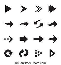 Vector group of arrow