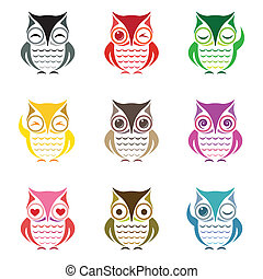 Vector group of owl