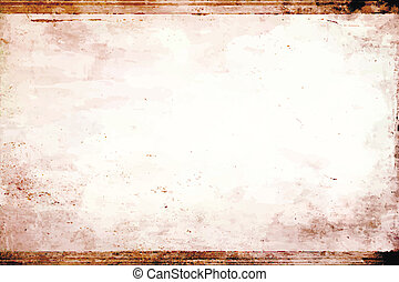 Vector grunge background texture, old picture frames