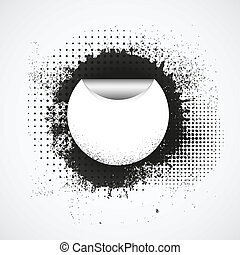 Vector grunge background with place for your text or message. Eps10