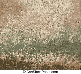 vector grunge background with space
