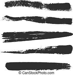 Vector Grunge Brushes