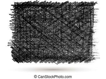 Vector grunge texture canvas backgr