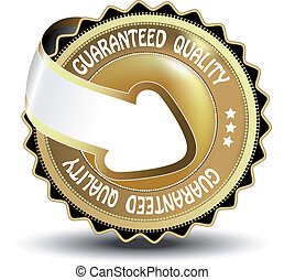 Vector guaranteed quality label