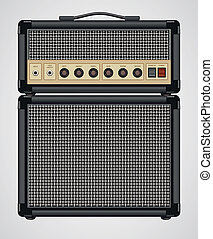 Guitar Amplifier - Vector Guitar Amplifier