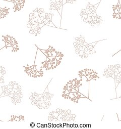Vector gypsophila repeat pattern background - Gypsophila ...