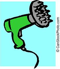 Vector hair dryer