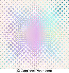 Vector halftone background
