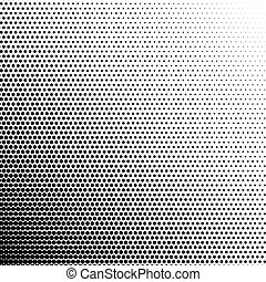 Vector halftone pattern background. Isolated on white.