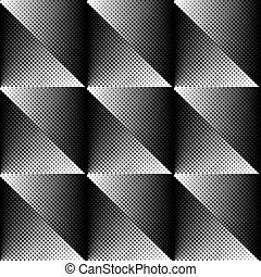 Vector halftone texture