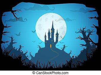 Vector Halloween Bacgkround
