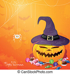 Vector Halloween Background